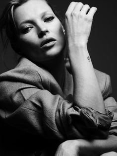 Kate Moss by Hedi Slimane