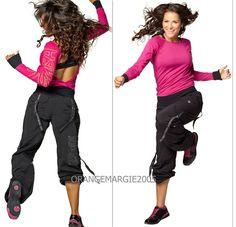 ZUMBA FITNESS DANCE ZUMBAWEAR SAMBA CARGO PANTS Harrods~UK Convention RARE S M L #ZUMBAZUMBAFITNESS…