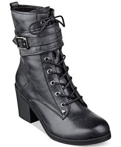 G by GUESS Women's Apex Combat Booties