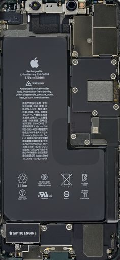 iPhone 11 Pro, and 11 Pro Max Teardown Wallpapers - - No matter how many cameras your iPhone 11 has, we've got some teardown wallpapers for you to show off those juicy new internals. We tore down both the vanilla…. Apple Wallpaper Full Hd, Black Hd Wallpaper Iphone, Iphone Lockscreen Wallpaper, Ps Wallpaper, Homescreen Wallpaper, Iphone Background Wallpaper, Aesthetic Iphone Wallpaper, Wallpaper Wallpapers, Wallpaper Quotes