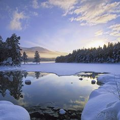 Loch An Eilein, Cairngorm, Scotland.I want to visit here one day.Please check out my website thanks. www.photopix.co.nz