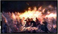 Atacul de noapte al lui Vlad Țepeș împotriva oștilor otomane, una dintre cele mai strălucite victorii ale creștinătății împotriva turcilor - » Glasul Românilor de Pretutindeni Vlad The Impaler, Turkish Army, Art Database, Dark Places, Romanticism, Vatican, Dracula, Medieval, Battle
