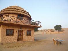 Khimsar Sand Dunes Village: My little 'hut'