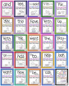 cut and paste sight word books Preschool Sight Words, Teaching Sight Words, Sight Word Practice, Sight Word Activities, Word Games, Literacy Activities, Kindergarten Reading, Teaching Reading, Learning