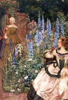 They toil not, neither do they spin | Eleanor Fortescue-Brickdale