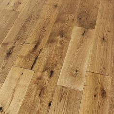 RUSTIC SMOKED COTTAGE OAK MATTE LACQUERED SOLID OAK FLOORING