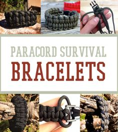 How to Make Paracord Survival Bracelets | 16 Cool Projects -By Survival Life Contributor on April 28, 2014