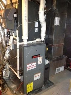 How to vent high efficiency condensing furnaces diy for Efficient heating systems for homes