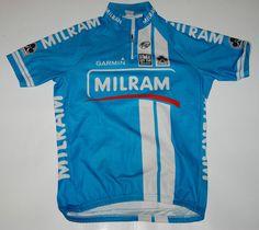 SANTINI UCI PRO TEAM 2008 CYCLING JERSEY MILRAM TOUR DE FRANCE COLNAGO  GARMIN XL ff852cb76
