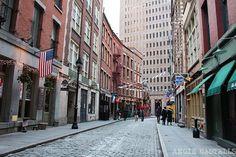 Stone Street, una calle muy especial en Wall St