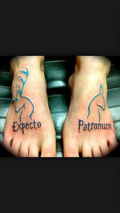 Expecto Patronum. Harry Potter Tattoo