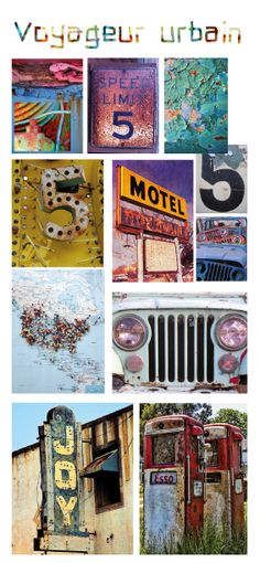Moodboard d'inspirations pour la collection Voyageur urbain (garçon 2-10 ans) / Inspirations moodboard for Urban voyageur collection (boy 2-10 years) #garçon #voyage #mode #enfant #monet #boy #fashion #kid
