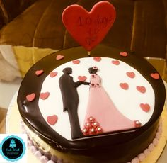 2D couple cake Themed Cakes, 2d, Couple, Desserts, Theme Cakes, Tailgate Desserts, Dessert, Cake Art, Deserts