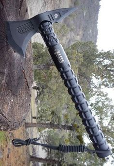 Officially Licensed USMC Elite Tactical Bruiser Survival Tomahawk Axe