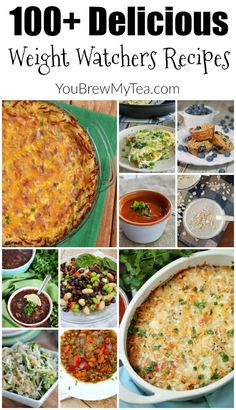 Weight Watchers Recipes are a must on the SmartPoints program! This list of 100+ Delicious Weight Watchers Recipes is a great place to begin!