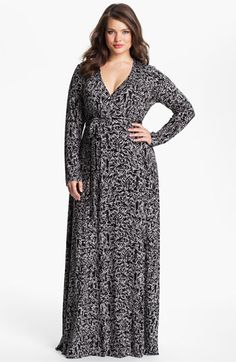 Rachel Pally Long Wrap Dress (Plus) available at #Nordstrom