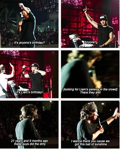 Oh god only harry would say this.... Liam probably wanted to murder him right there!