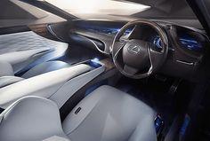 レクサス、インホイールモーターや自動運転技術を採用した燃料電池車「LF-FC」を世界初公開 - Car Watch