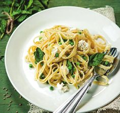 fettucine with mint #ClippedOnIssuu from Mindful - Issue 26