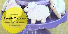 These lamb cookies are easy to make with the right...