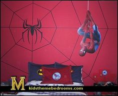 Cape Cod Attic Bedroom Ideas   Spider-Man bedroom - Boys\' Room ...