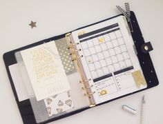 2015 Planner Dashboard & January Monthly by HelloTodayCreate at @studio_calico