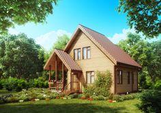 10 különleges faház Magyarországon – Erdei szálláshelyek, wellness faházak a természet ölelésében House Siding Options, Painted Wood Walls, Red Brick Walls, Rural House, Wooden House, Types Of Houses, Classic House, Cozy House, Home Builders