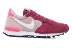 hot sale online dc03e e6a74 Nike Wmns Nike Internationalist - Tenisówki i trampki Bordowy - Sarenza.pl  (215914)