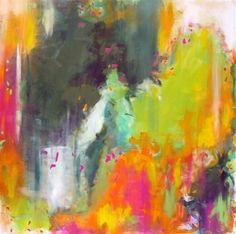 abstract art,expressionism art, acrylic painting, Terrarium #EasyNip