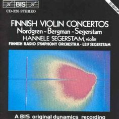 Segerstam/Finnish RS - Finnish Violin Concertos