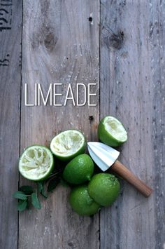 Minty Limeade water palm sugar lime juice (I used 3 large limes) handful of mint Summer Drinks, Fun Drinks, Limeade Recipe, Real Food Recipes, Cooking Recipes, Le Shop, Food Photography Styling, Low Calorie Recipes, How Sweet Eats