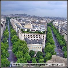 French Fridays - Exploring the Panthéon, Grande Arch and the view from the Arc de Triomphe - Mom Making Memories Making Memories, Paris Skyline, Exploring, Arch, Mom, Travel, Longbow, Viajes, Destinations