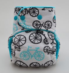 Bicycle diaper!! Because I don't have nearly enough diapers....