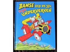 Bamse och de sju nya underverken Rune Andréasson Inbunden
