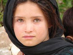 Asia: Mongol Hazara girl of Daikundi, Afghanistan