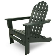 Cape Cod Rainforest Canopy Folding Patio Adirondack Chair