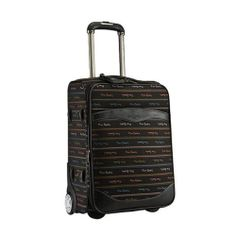 Genuine Pierre Cardin Carnival Luggage Expend Carry-On Travel Bag/ 19 inch Black