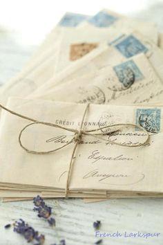 """seasonsofwinterberry: """" Love letters…. """""""