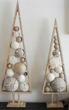 39 Ideas Rustic Modern Christmas Tree Xmas For 2019 Alternative Christmas Tree, Diy Christmas Tree, Christmas Makes, Christmas Projects, Christmas Tree Decorations, Christmas Time, Christmas Ornaments, Xmas Trees, Holiday Tree