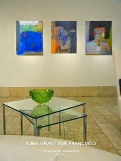 Art studio Sergey Konstantinov. Exhibitions Soma Grand San Francisco. Arttitud. Painting. Artist Sergey Konstantinov.