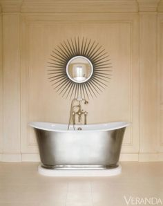 These tubs add a much-needed dose of glamour to one of the most mundane of spaces in a home.