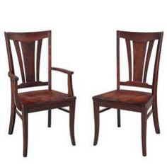 Side Chairs, Dining Chairs, Amish Furniture, Craftsman, Hardwood, Armchair, Cherry, Range, Contemporary