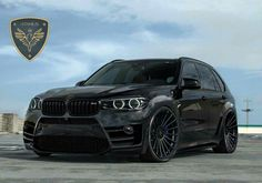 BMW F85 X5M ECU Tuning black