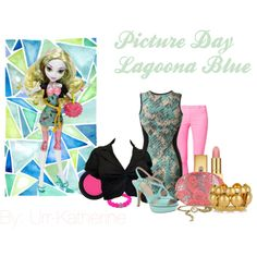 Designer Clothes, Shoes & Bags for Women Monster High Clothes, Monster High Dolls, Picture Day, Character Outfits, Clowns, Polyvore Outfits, Cape, Outfit Ideas, Inspiration