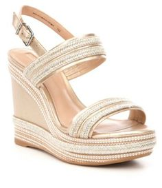 873ebaec72e Shop for Antonio Melani Brisa Metallic Platform Wedge Sandals at  Dillards.com. Visit Dillards