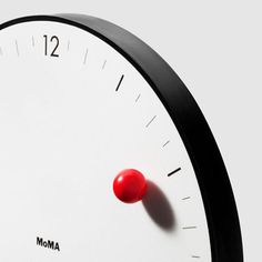 MOMA Modern Innovative Magnetic Ball Wall Clock