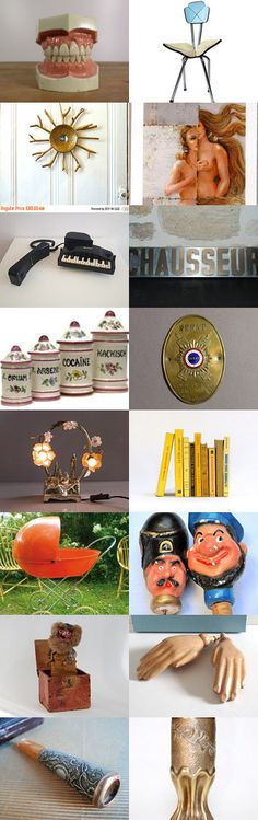 ☇ ☈ (French vintage) curiosities... by Le French Bazaar on Etsy--Pinned+with+TreasuryPin.com