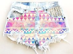 Please be aware that items may vary in size/style due to each design being vintage and handmade. You will receive a similar pair of shorts with the same customization. Please note these are vintage shorts therefore sizes run small, so you may want to order a size up. Don't see your size? Please utilize our HIGHLY RECOMMENDED Traveling Jeans Program!*Availability of color may change, patches of fabric may vary. If you would like to customize length, please note at check out...