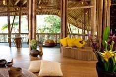 'Green Village' by Ibuku Studio, Indonesia - Decoration - Design - Interior Design - Ideas - Furniture - Dream Home - Resort - Green Village - Bali - Indonesia - Bamboo - Ikubu Studio Style At Home, Bamboo Village, Bamboo House Design, Bamboo Building, Green Building, Bamboo Structure, Bamboo Architecture, Architecture Interiors, Eco Friendly House