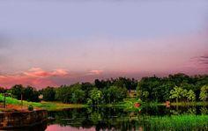Cherokee Lake in Cherokee Village, Ark.